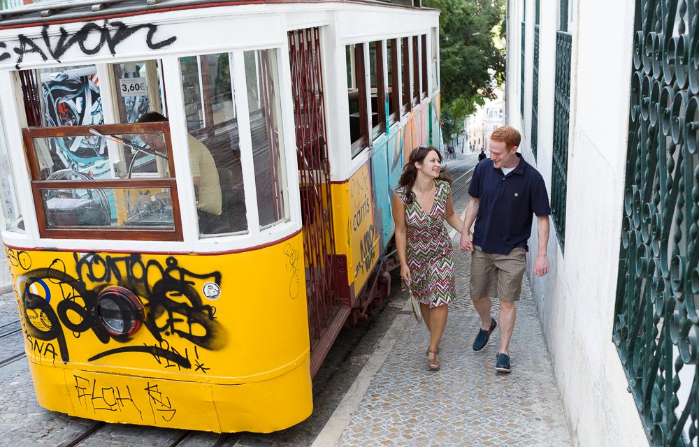 A Priceless Wedding Present, Honeymoon Photos in Lisbon | Vacation Photographer in Lisbon