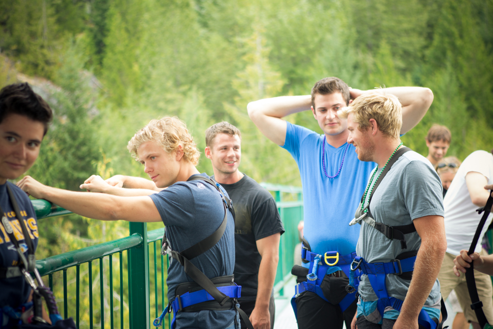 Bachelor Party Ideas in Whistler.