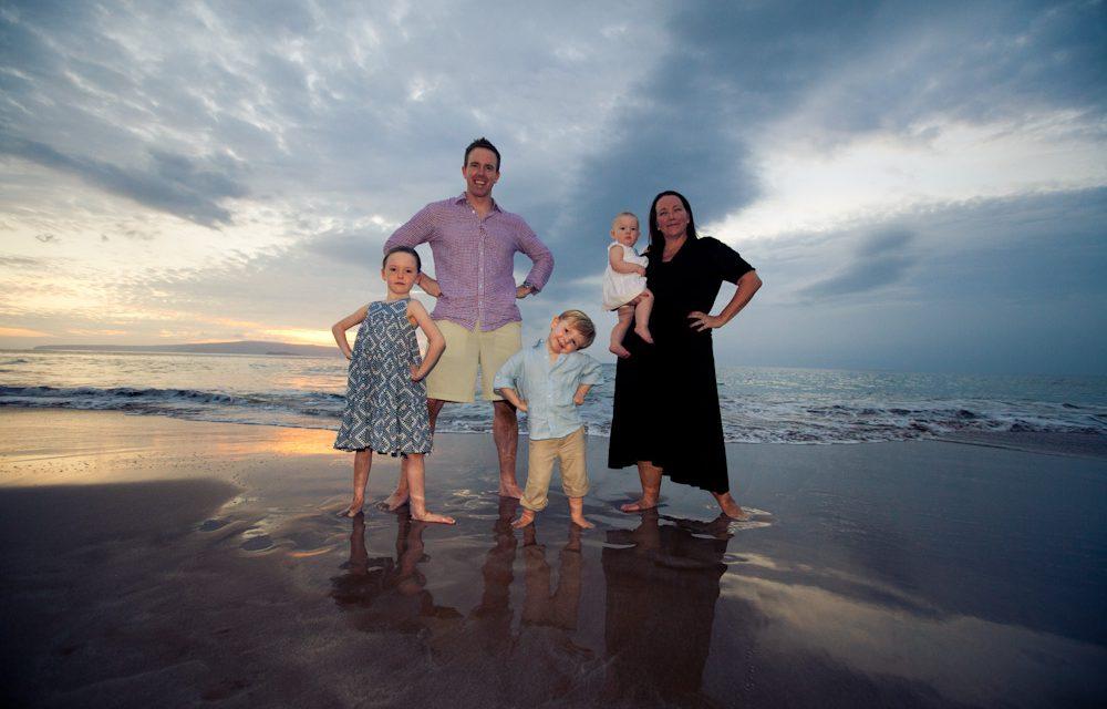 Superhero Family Found on Fairmont Kea Lani Beach in Maui