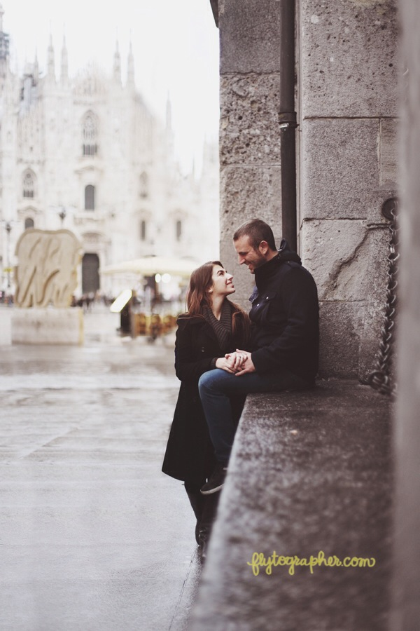 Flytographer in Milan. Hire a Vacation Photographer