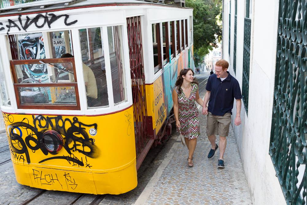 Flytographer in Lisbon. Hire a vacation photographer in Lisbon