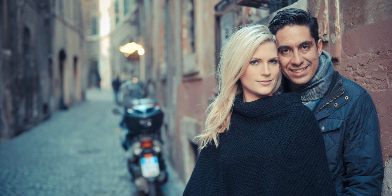 Breathtaking Engagement Photos in Rome & The Search for a Hidden Church