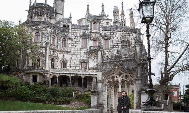 Surprise Proposal Outside Fairytale Castle in Europe