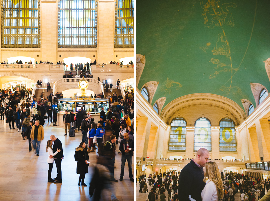 Grand Central Station. Photographer: Lauren Colchamiro