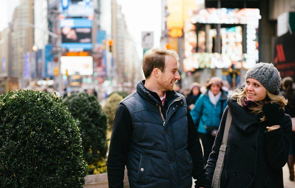 Surprise Honeymoon Photo Shoot in New York City