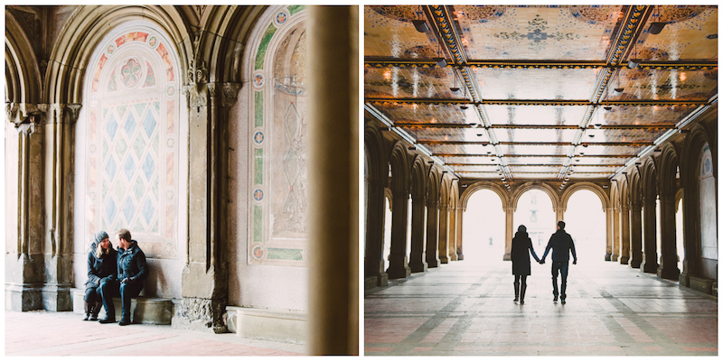 Bethesda Terrace Lower Passage. Photographer: Lauren Colchamiro