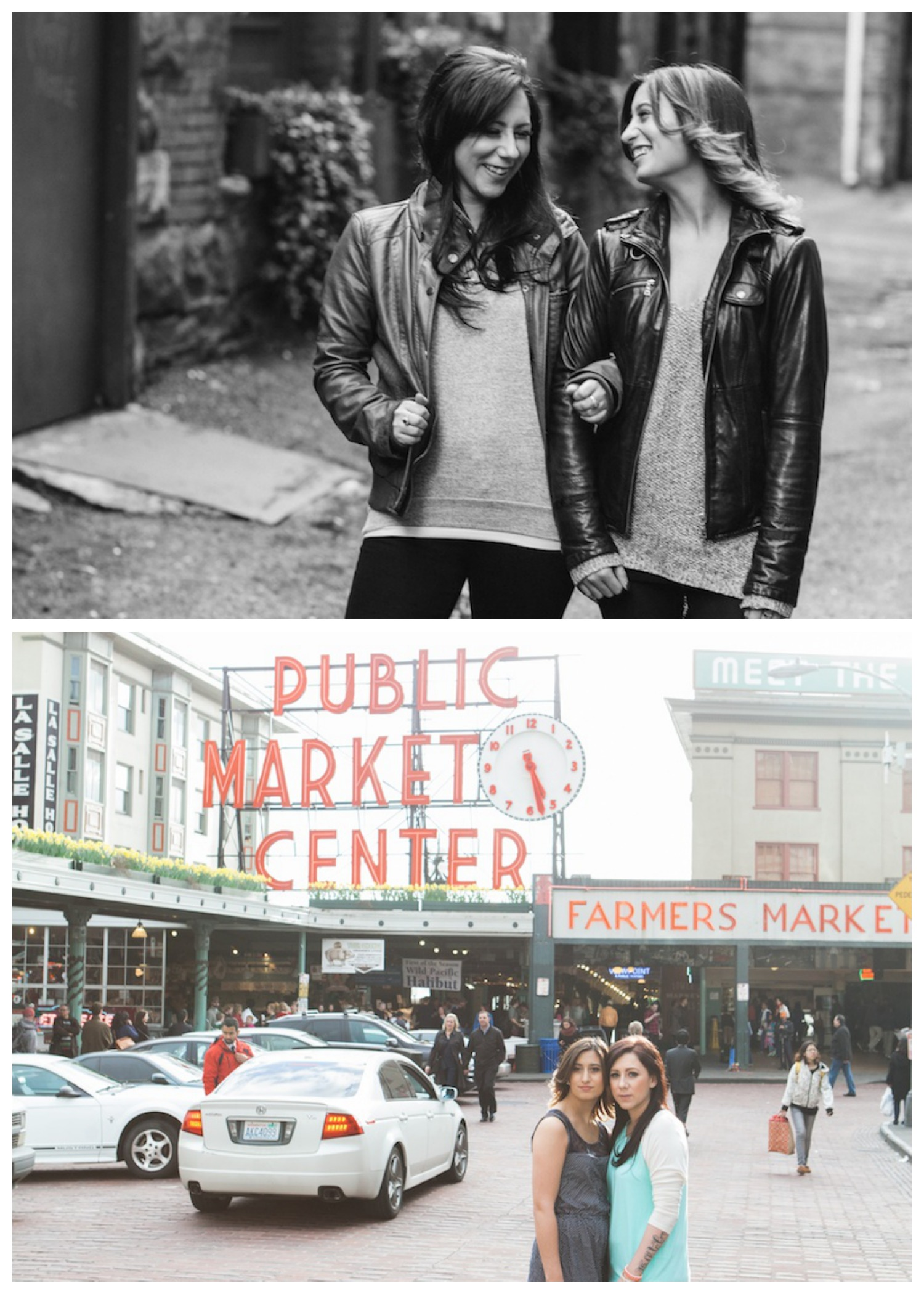 A must-have shot outside the iconic Public Market sign.