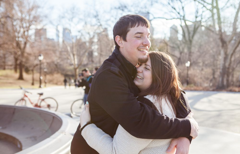 Surprise Proposal in NYC's Central Park | Hire a Proposal Photographer in NYC