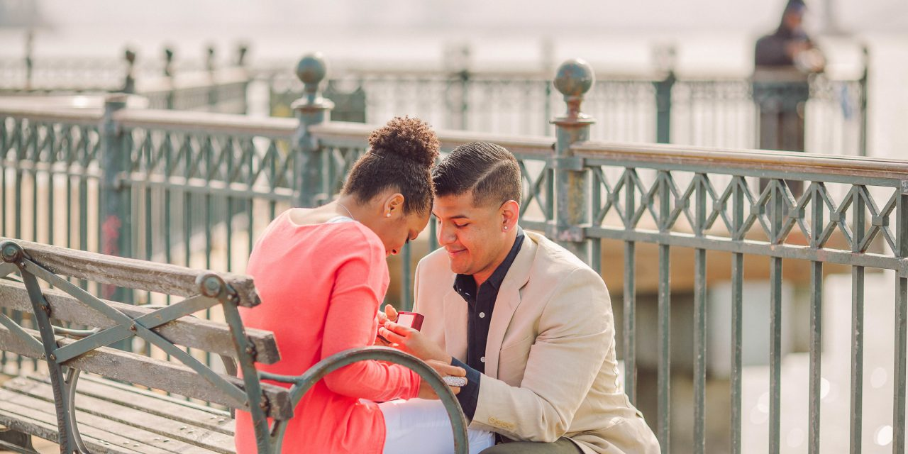 Sweet Surprise Proposal in San Francisco /// Romantic Proposal Ideas