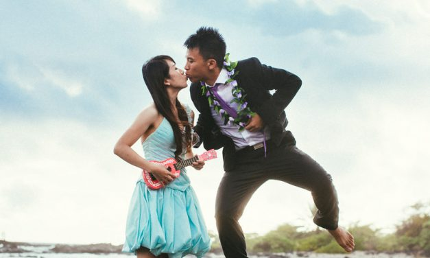 Pre-wedding Photos in Hawaii : Kona Vacation Photographer