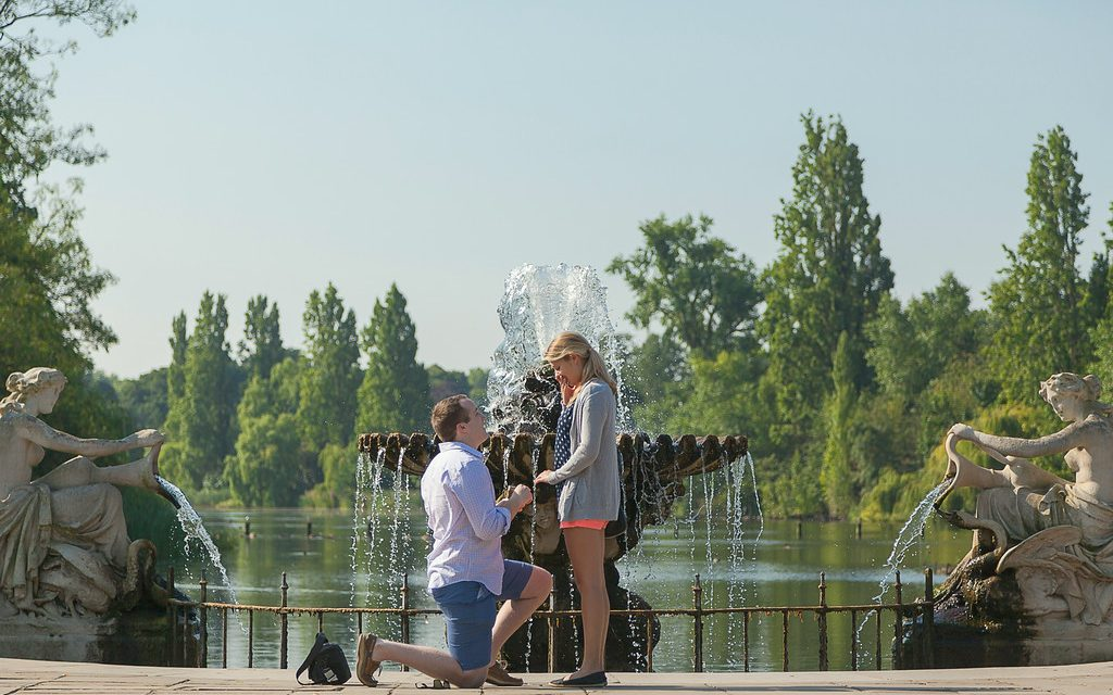 Hyde Park Surprise Proposal | London Proposal Photographer