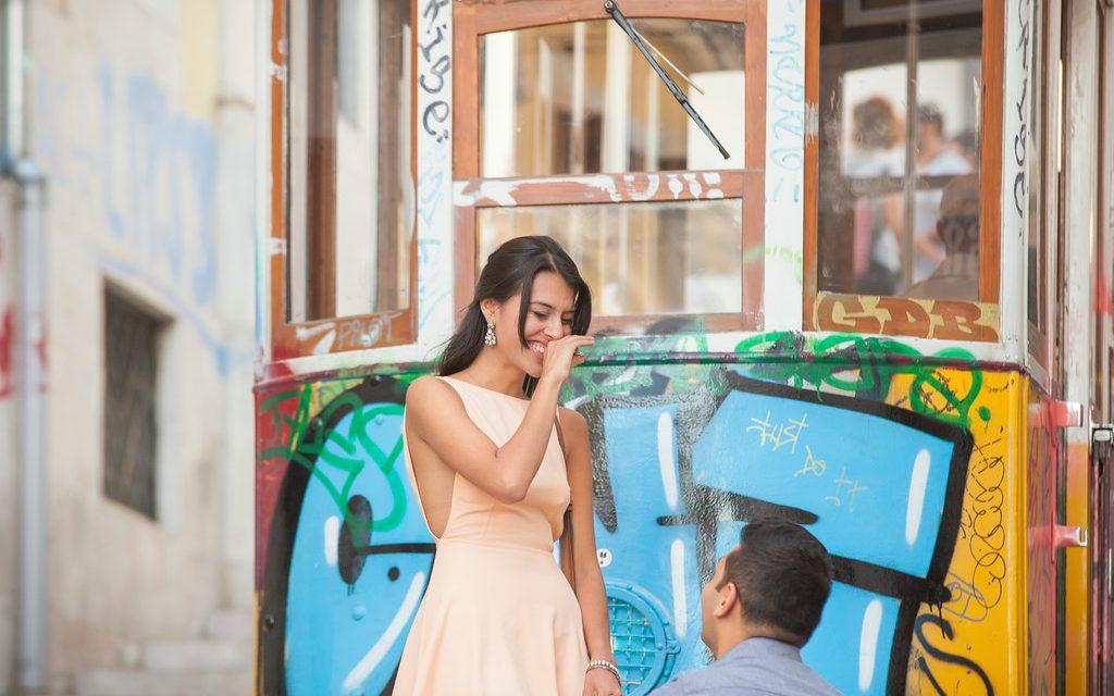 Utterly Breathtaking Surprise Proposal in Lisbon     Proposal Photographer in Lisbon