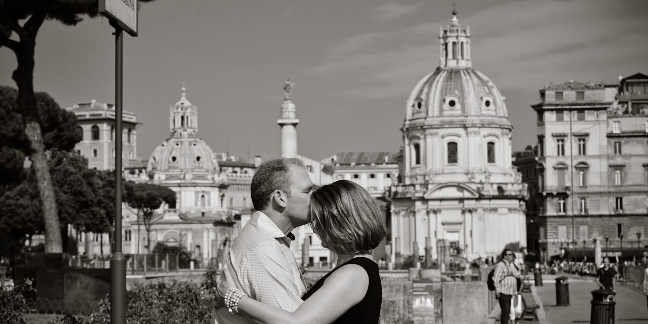 Celebrating 25 Years of Love in the Eternal City | Rome Vacation Photographer