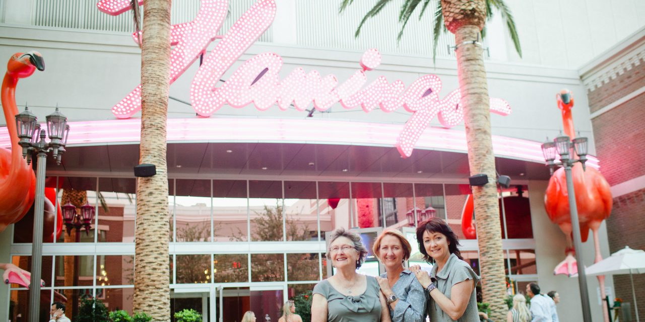 Flo's 80th Birthday in Vegas | Las Vegas Vacation Photographer