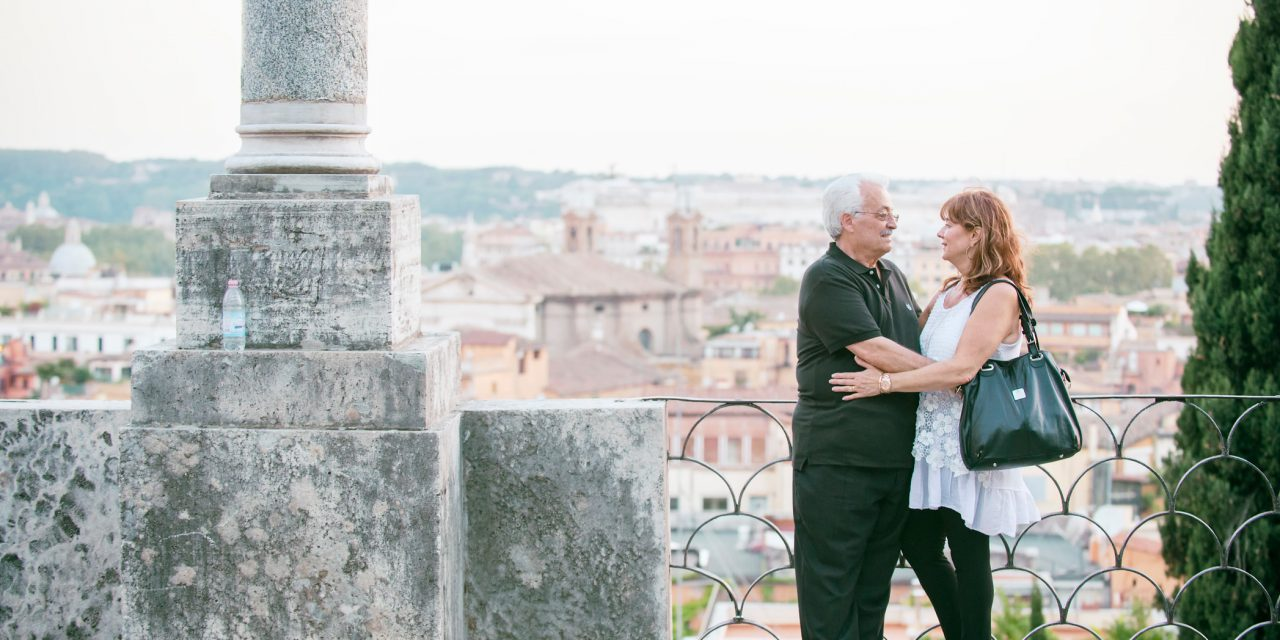 A Honeymoon, a 40th Anniversary and the birthplace of  Fettuccine Alfredo | Rome Vacation Photographer