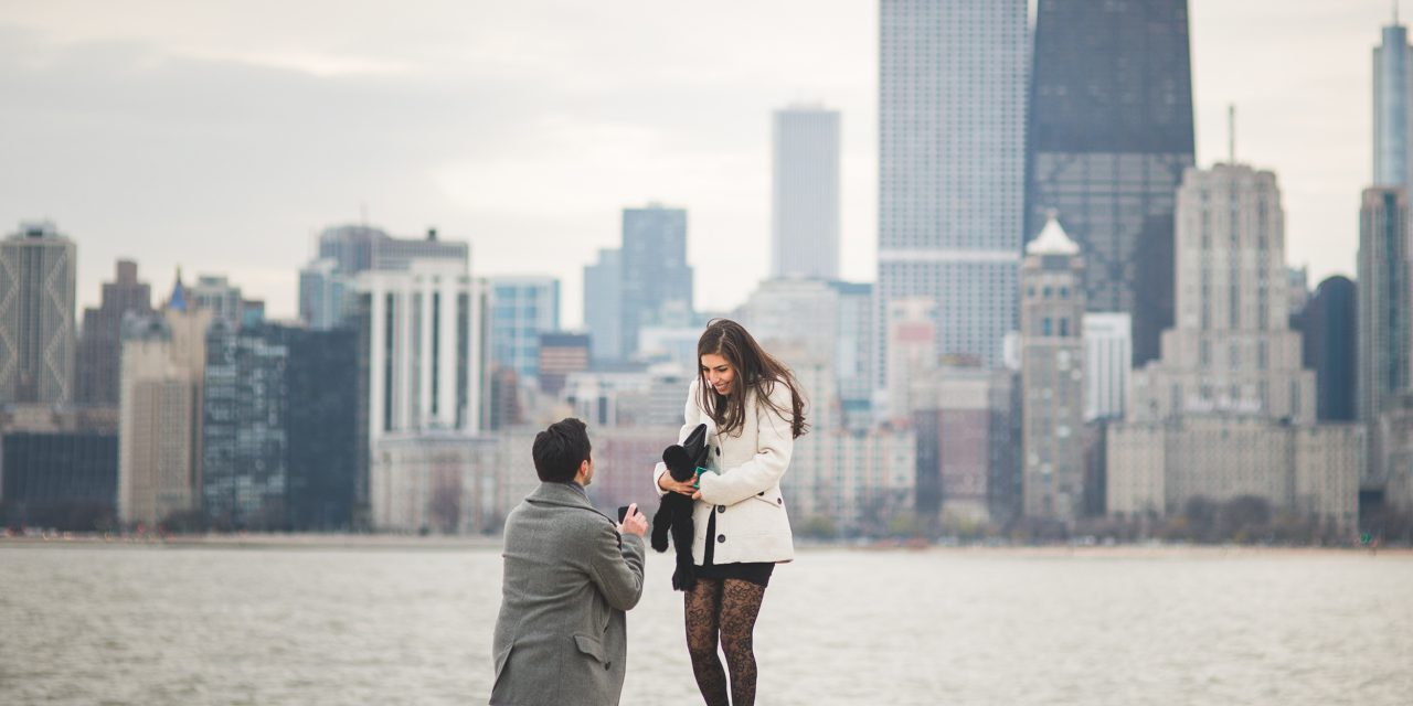 Four Videos and a YES | Chicago Proposal Photographer