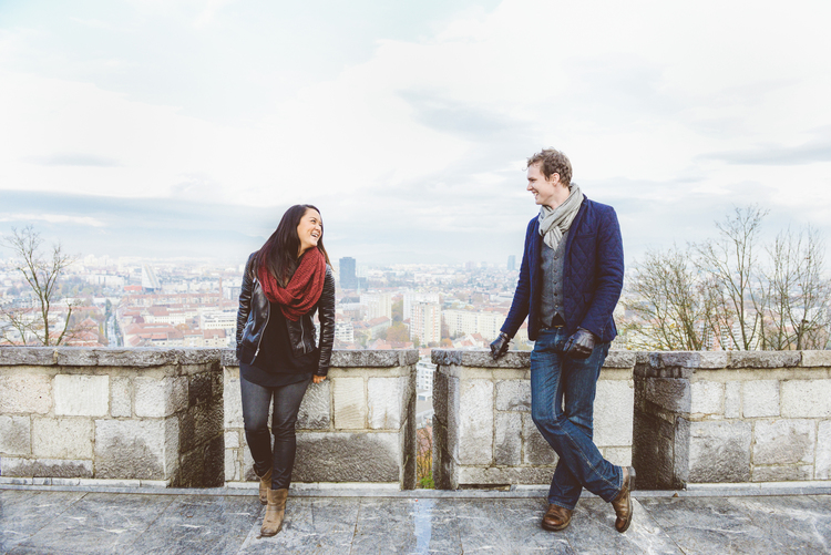 Love in Ljubljana | Slovenia Vacation Photographer