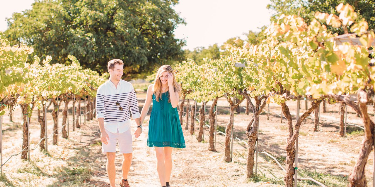 Saying Yes Amongst The Vines | Sonoma Proposal Photographer