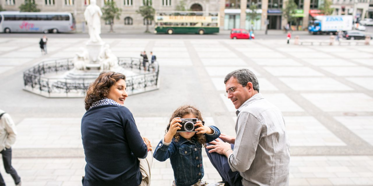 Family Bliss in Berlin | Germany Vacation Photographer