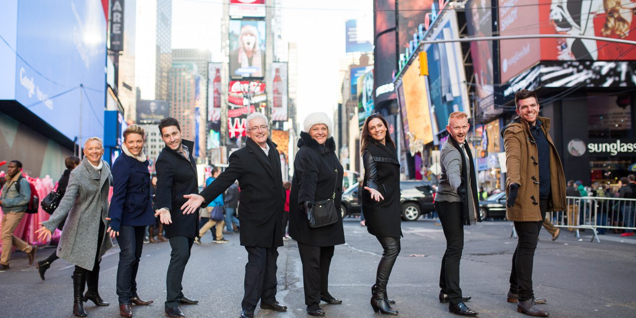 Broadway for the Holidays | NYC Vacation Photographer