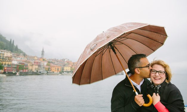Rain or Shine in Lake Como | Italy Vacation Photographer
