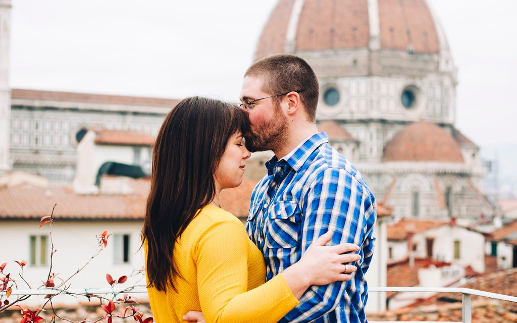 Love & Laughs at the Duomo in Florence