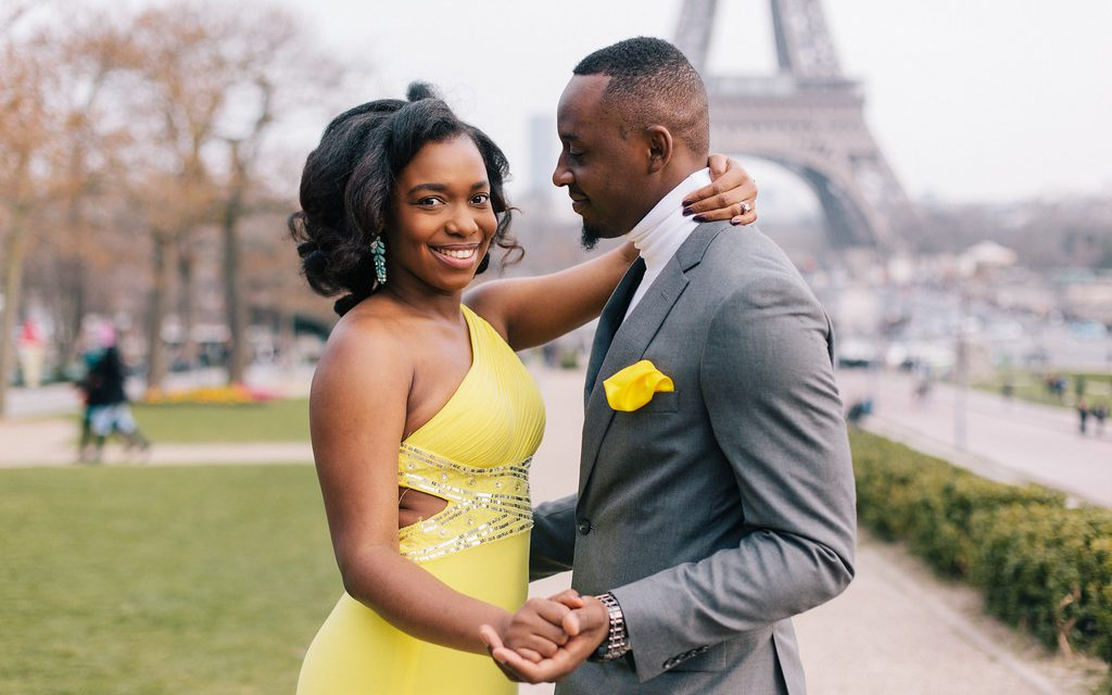 Yellow is the Colour of Love in Paris