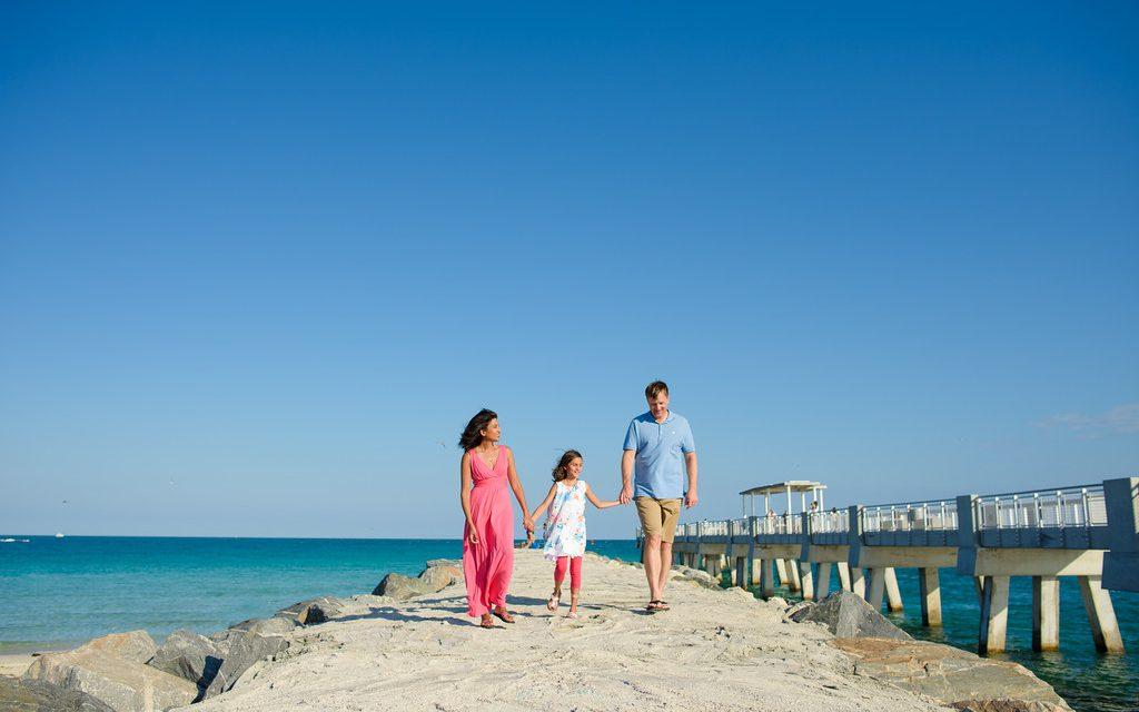 Bright and Fun Family Shoot in Miami
