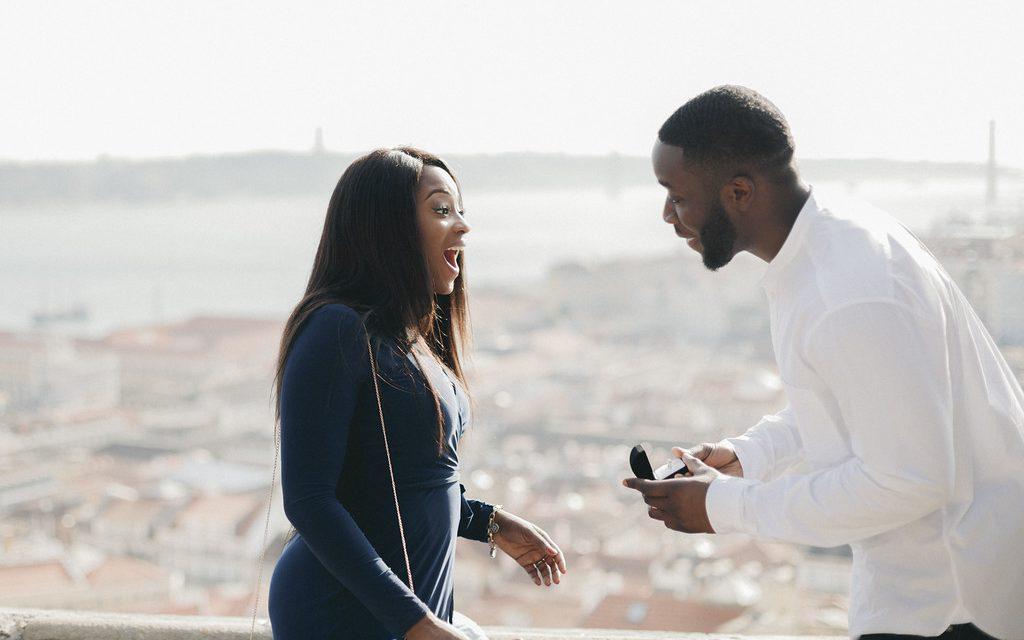 Stunning Proposal Overlooking Lisbon