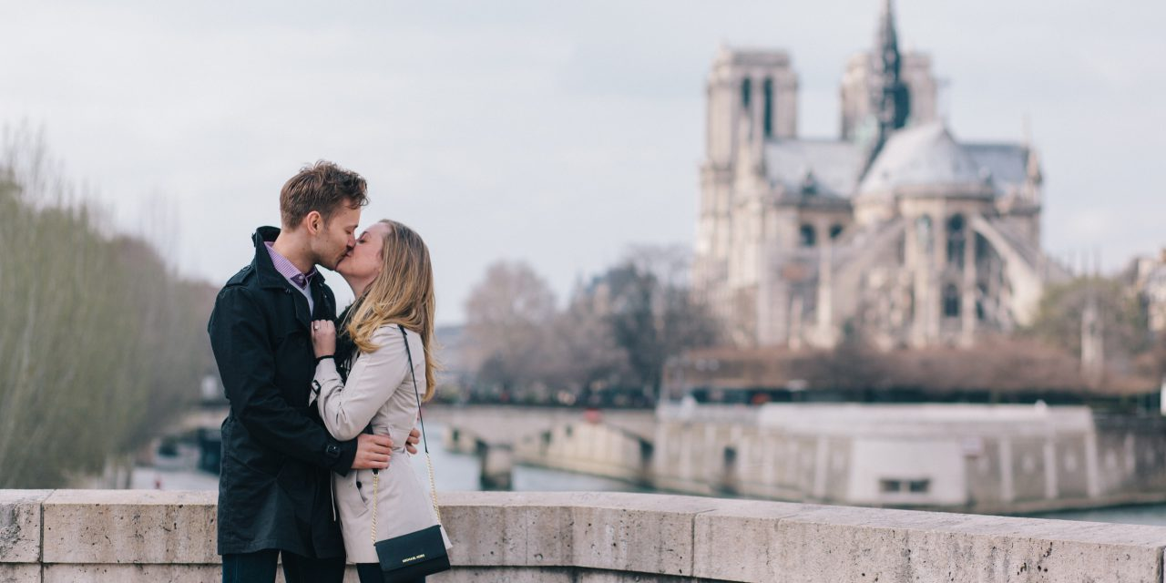 A Love-locked Parisian Proposal