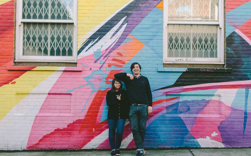 London, Street Art & A New York Flytographer