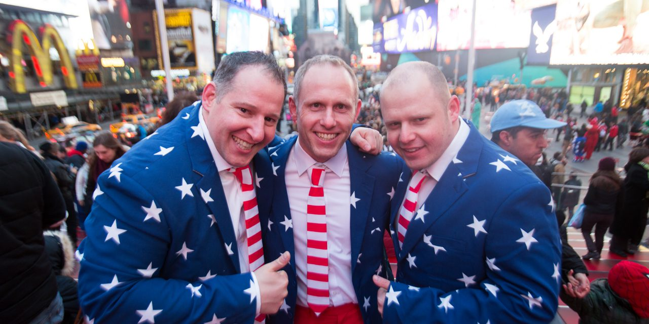 Painting the Town Red, White and Blue in NYC