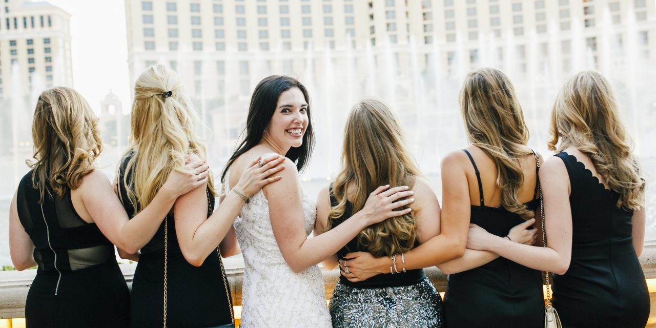 Bachelorette Bash in Las Vegas | Las Vegas Bachelorette Photographer