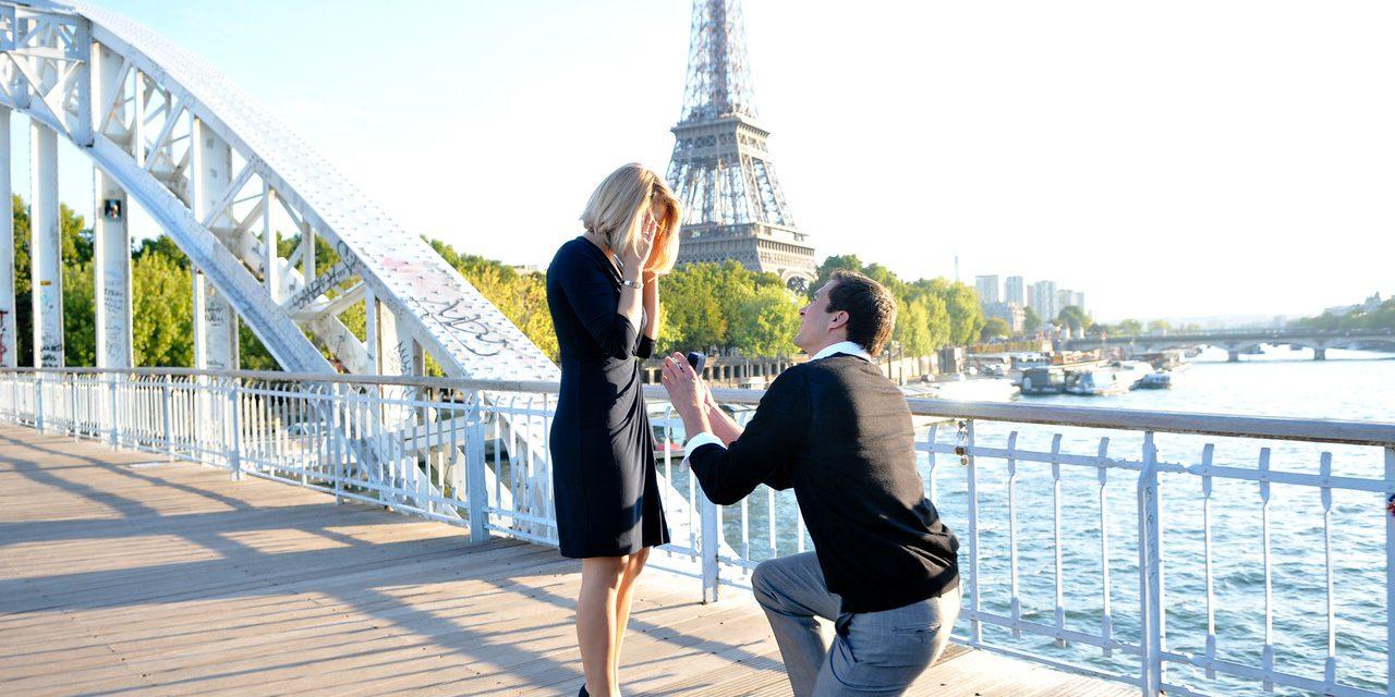 Top 5 Eiffel Tower Spots for a Surprise Proposal | Paris Proposal Photographer