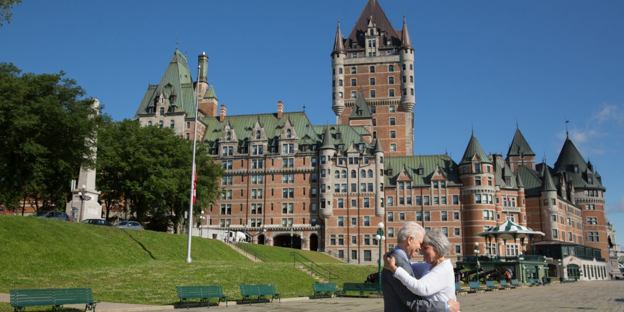 Anniversary Love in Quebec City | Quebec City Vacation Photographer