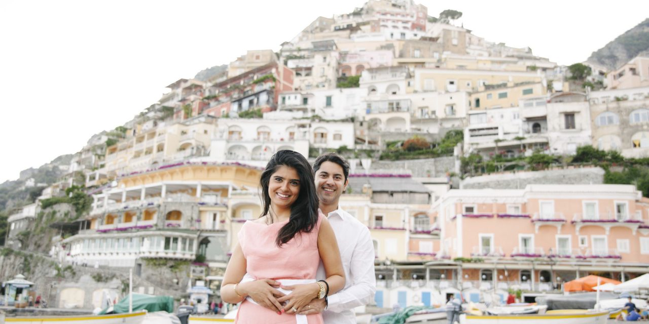A Beachy Anniversary Celebration in Positano | Amalfi Coast Vacation Photographer