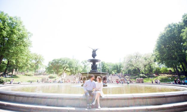 Engagement Excitement in Central Park