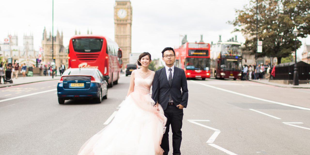 An Epic Pre-Wedding European Tour | London, Rome and Venice Pre-Wedding Photographer