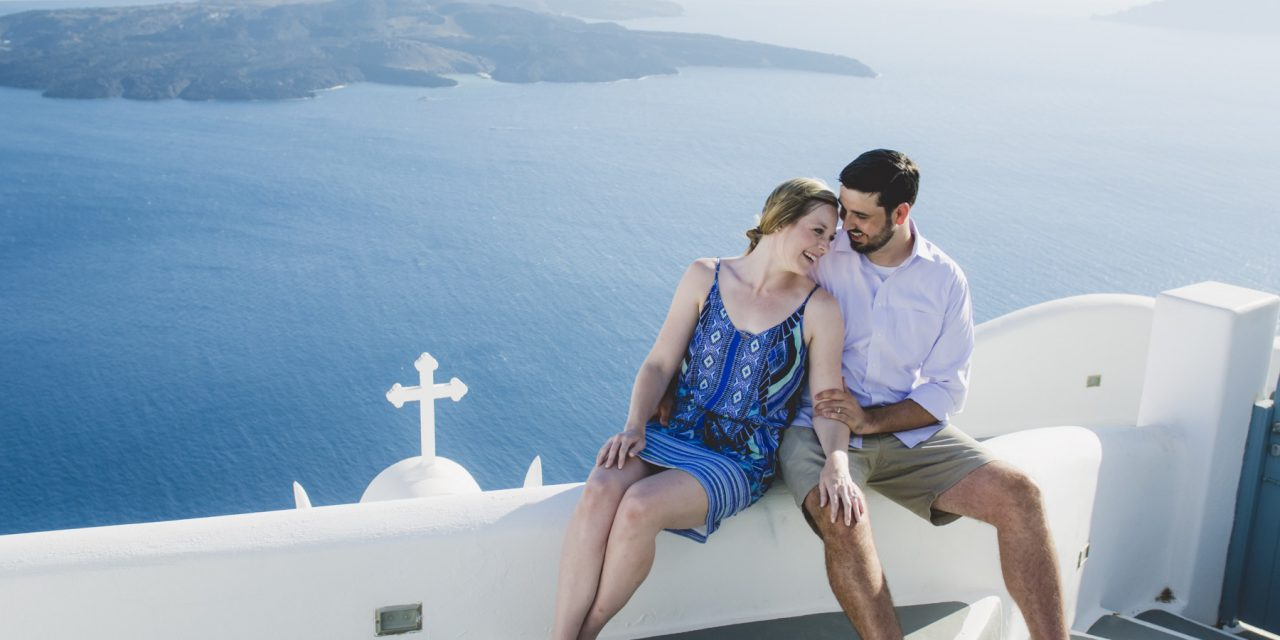 Dreamy Honeymoon Adventure in Santorini | Santorini Vacation Photographer