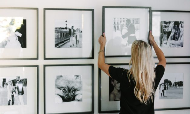 Creating a Photo Wall with Designer Gillian Segal