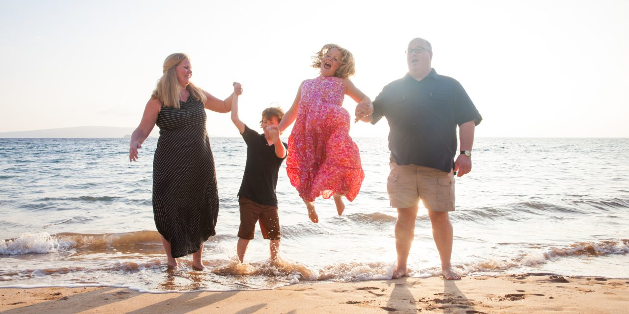 Seaside Family Fun in Maui | Maui Vacation Photographer