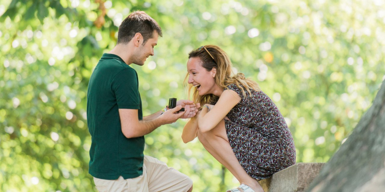 A Surprise Proposal Celebration in Budapest | Budapest Proposal Photographer