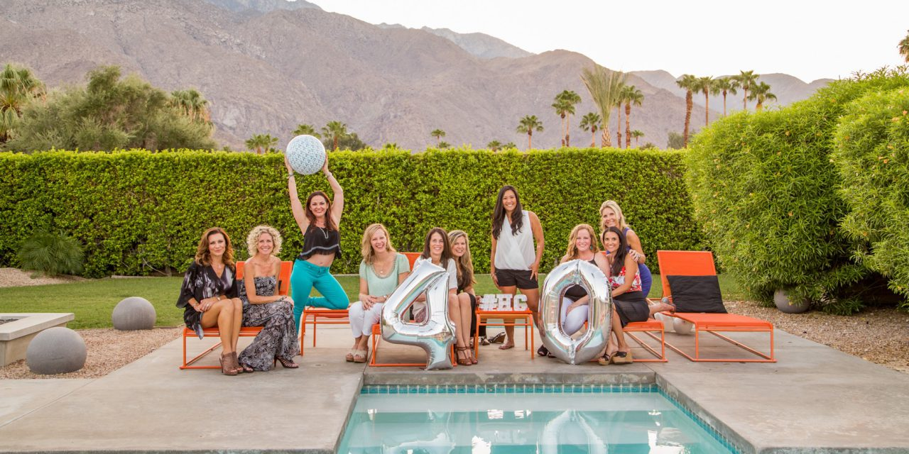 A Glamorous Girlfriends' Reunion | Palm Springs Vacation Photographer