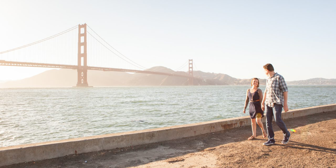 A Picturesque San Francisco Anniversary Shoot | San Francisco Vacation Photographer