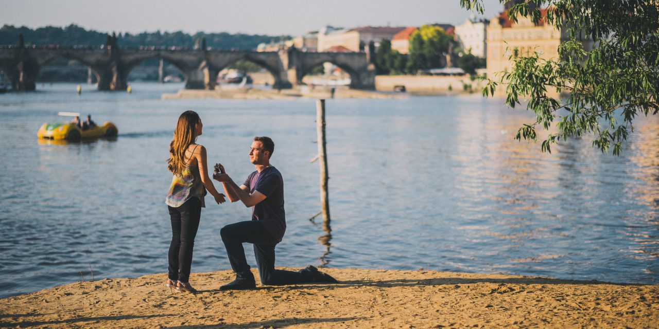 A Heartwarming Prague Proposal | Prague Proposal Photographer