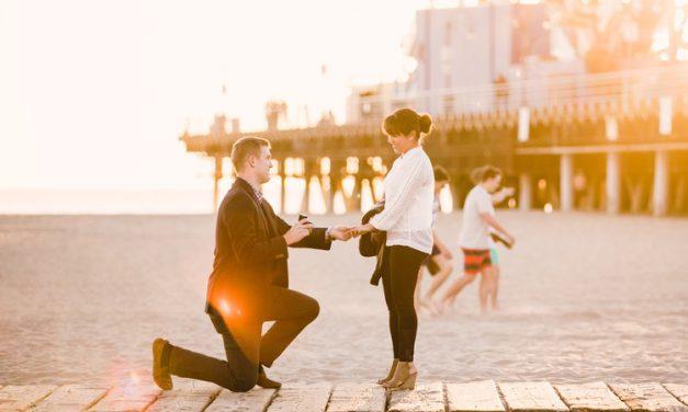 Santa Monica Pier Surprise Proposal