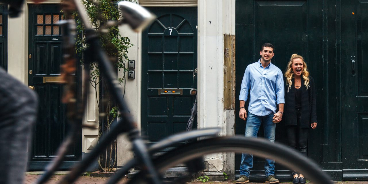 Exploring Amsterdam with Flytographer