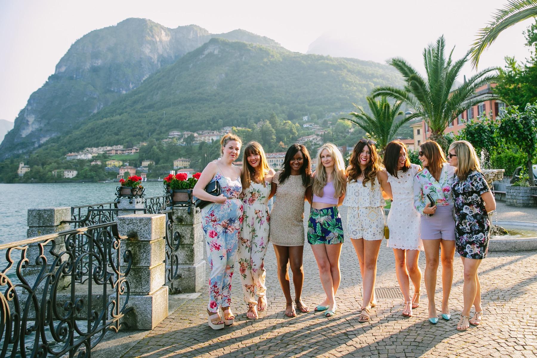 Flytographer Marian in Lake Como