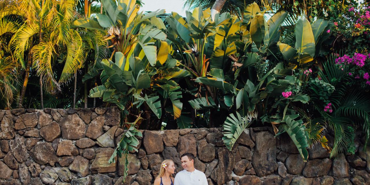 Newlywed Beach Escape in Hawaii
