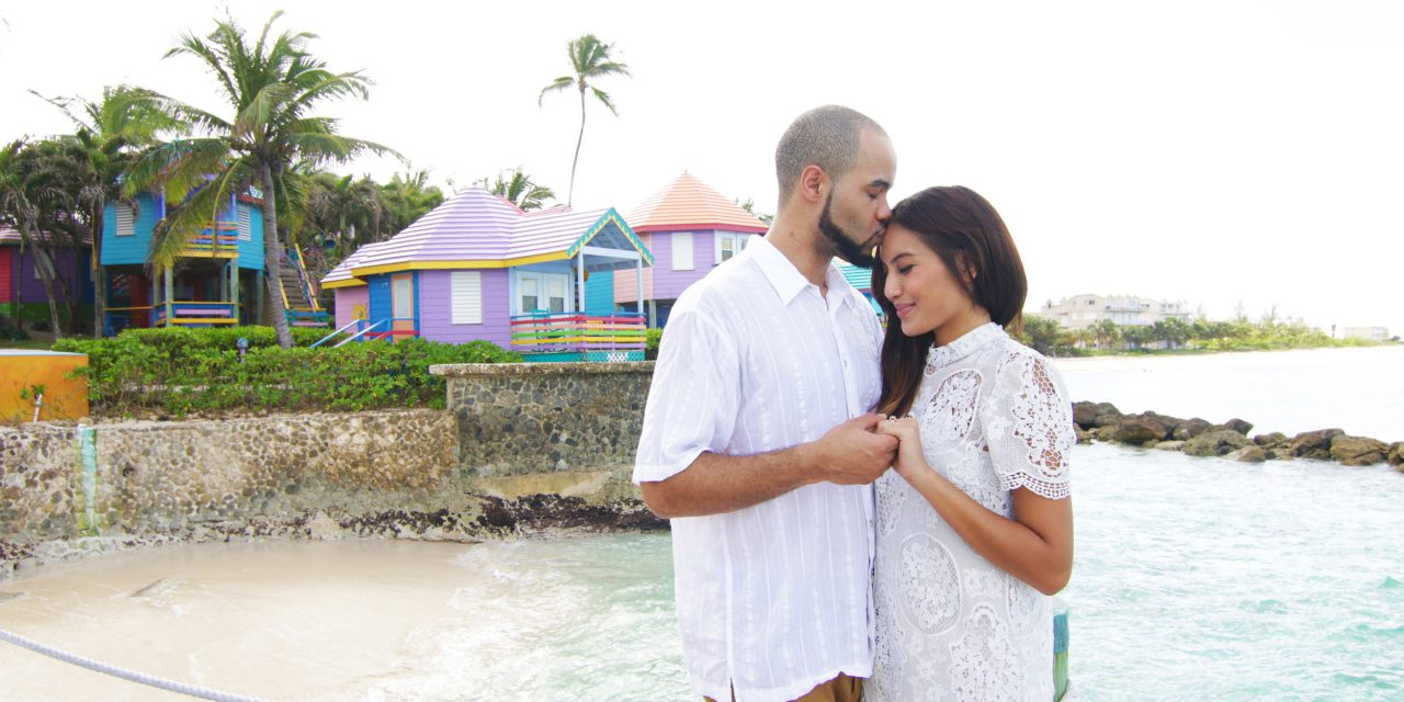Colourful Engagement Celebration in the Bahamas | Bahamas Vacation Photographer